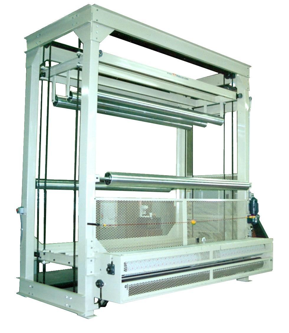 Low Tension Dual Carriage Web Accumulator