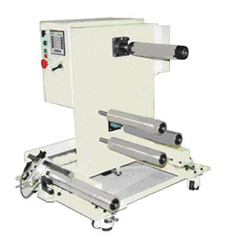 "narrow web rewind stand, : ""guided narrow web rewinder with load cells and a magpartical clutch"